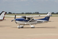 N9841X @ AFW - At Fort Worth Alliance Airport