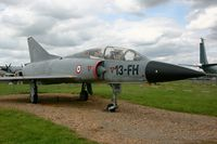 207 @ LFOE - Dassault Mirage III B - 207-13-FH, Static display Evreux-Fauville Air Base 105 (LFOE) - by Yves-Q