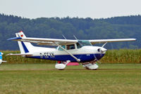 D-EFYN @ EDMT - R/Cessna F.172P Skyhawk [2089] Tannheim~D 24/08/2013. Parked up awaiting departure. - by Ray Barber