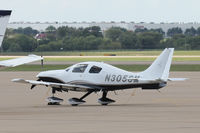 N305SM @ AFW - At Alliance Airport - Fort Wort, TX