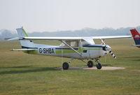 G-SHBA @ EGLD - Reims Cessna F152 at Denham - by moxy