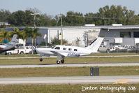 N140MM @ KSRQ - Piper Malibu Mirage (N140MM) departs Sarasota-Bradenton International Airport - by Donten Photography