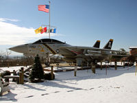 158617 - This fine Tomcat is on display at the VFW Post 7293, Whitehall, PA. - by Daniel L. Berek