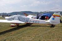 D-KIEO @ EDMT - Scheibe SF-25C Falke 2000 [44671] Tannheim~D 23/08/2013 - by Ray Barber