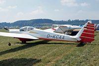 D-KCAA @ EDMT - Scheibe SF-25C Rotax-Falke [44620] Tannheim~D 23/08/2013 - by Ray Barber