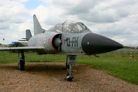 207 @ LFOE - Dassault Mirage III B (cn 207-13-FH), Static display Evreux-Fauville Air Base 105 (LFOE) - by Yves-Q