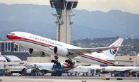 B-2077 @ KLAX - Boeing 777-F6N - by Mark Pasqualino