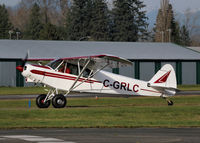 C-GRLC @ CYNJ - A comment from the owner...   The Cub is brand new and just got it into the sky in May.  It took 7 years to complete, every part is new only thing that isn't is the Data plate and log books, these items  show the Cub as a1954 (really its a 2013).  - by Guy Pambrun