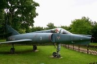 3 @ LFPO - Dassault Etendard IV.M, Displayed at La coulée verte Park, Paray-Vieille Poste near Paris-Orly Airport. - by Yves-Q