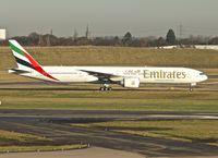A6-EGW @ EGBB - Emirates' 2012 Boeing 777-31H(ER), c/n: 35601
