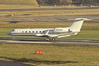 N550GW @ EGBB - 2003 Gulfstream Aerospace GV-SP (G550), c/n: 5006 at Birmingham