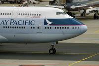 B-HUI @ EDDF - Boeing 747-400 - by Florian B.