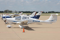 N74SW @ AFW - At Alliance Airport - Fort Worth, TX