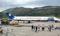 9A-CDA @ LDDU - Dubrovnik Airways, apparently extinct. History now - by JPC
