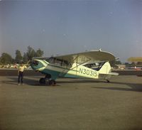 N30315 @ KEMT - Photo taken at El Monte, CA airport in July 1959. Owner, at that time, was Raymond Page - by Raymond Page
