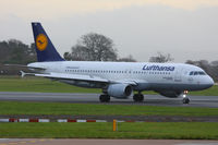 D-AIZB @ EGCC - Lufthansa - by Chris Hall