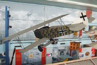 6796 - Fokker D VII at the Musee de l'Air, Paris/Le Bourget - by Ingo Warnecke