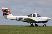 G-BMVM @ EGHA - Privately owned, at the Pooley's Day Fly-In. - by Howard J Curtis