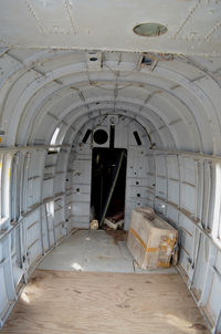 145728 @ KSSF - Inside of a UH-34E, Texas Air Museum - by Ronald Barker