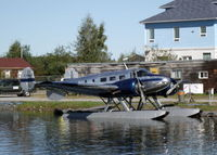 C-FWWV - Docked at the Old Town Float Base in Yellowknife, Northwest Territories. - by Murray Lundberg