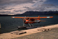 C-GAEE @ CAD6 - Arriving at the Taku Air dock at Atlin, British Columbia. - by Murray Lundberg