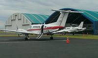 ZK-MYM @ NZAA - At Akl nice dc3, in background zk-awp - by magnaman
