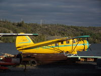 CF-SAN - Docked at Old Town, Yellowknife, NWT - by Murray Lundberg
