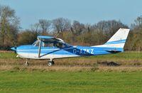 G-AZKZ @ EGSV - Just landed. - by Graham Reeve