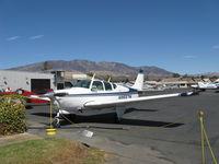 N8557M @ SZP - 1963 Beech 35-B33 DEBONAIR, Continental IO-470-K 225 Hp, refueling - by Doug Robertson