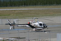 C-GTPK @ CYXY - On the ramp at Whitehorse, Yukon. - by Murray Lundberg