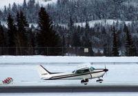 C-GUEG @ CYXY - Taking off at Whitehorse, Yukon - by Murray Lundberg