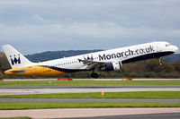G-OZBM @ EGCC - Monarch Airlines. - by Howard J Curtis