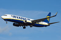 EI-ESV @ EGHH - Ryanair, coming in to land. - by Howard J Curtis