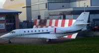 D-CLEO @ EGCC - Parked up at Manchester - by Guitarist