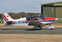 D-EYIA @ EGHH - Taxiing to depart from BHL - by John Coates