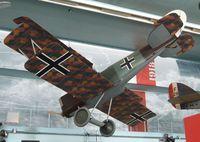 2690/18 - Pfalz D XII at the Musee de l'Air, Paris/Le Bourget - by Ingo Warnecke