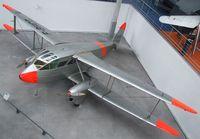 F-BHCD - DeHavilland D.H.89A Dragon Rapide at the Musee de l'Air, Paris/Le Bourget
