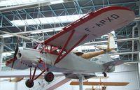 F-APXO - Potez 437 at the Musee de l'Air, Paris/Le Bourget