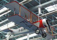 F-AINX - Caudron C.60 at the Musee de l'Air, Paris/Le Bourget - by Ingo Warnecke