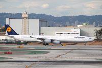 D-AIHQ @ KLAX - Airbus A340-600 - by Mark Pasqualino