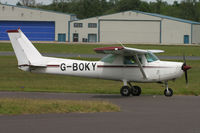 G-BOKY @ EGHH - Privately owned. - by Howard J Curtis