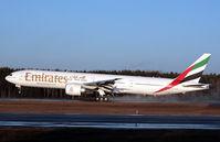 A6-ECM @ ESSA - Landing runway 26. - by Anders Nilsson