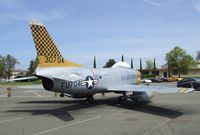 53-0704 - North American F-86D Sabre at the Travis Air Museum, Travis AFB Fairfield CA - by Ingo Warnecke