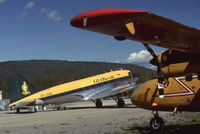CF-CUG @ CYDA - At Dawson City, Yukon - by Murray Lundberg
