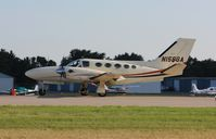 N156GA @ KOSH - Cessna 425