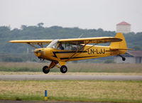 LN-LJJ @ LFBR - Participant of the Muret Airshow 2013 - by Shunn311