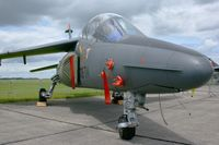 E128 @ LFOE - French Air Force Dassault-Dornier Alpha Jet E, Static display Evreux-Fauville AB 105 (LFOE) - by Yves-Q