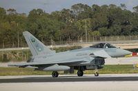 1009 @ LMML - Eurofighter Typhoon T3 ZK384 (1009) Royal Saudi Air Force - by Raymond Zammit