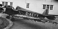 G-AEYY - The Martin Monoplane at the home of the late Mike Russell, Henham, Essex, in September 1977 - by Mike Russell