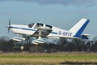 G-OFIT @ EGSV - Just airbourne. - by Graham Reeve